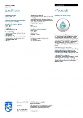 Venkovní svítidlo nástěnné LED 01816/30/PN-3