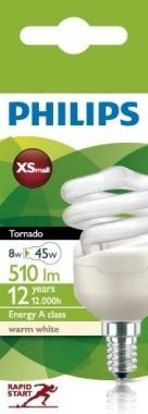Úsporná žárovka 8W E14 MA8718291117162