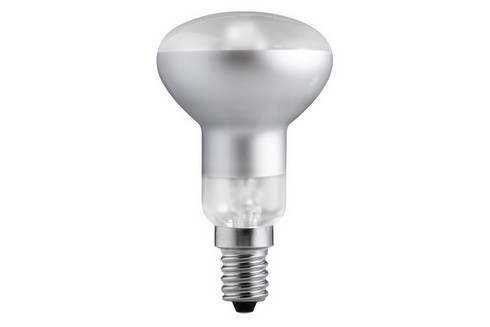 Halogenová žárovka R50 42W E14 230V stříbrná