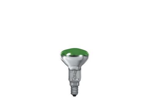 Reflektorová žárovka R50 25W E14 zelená