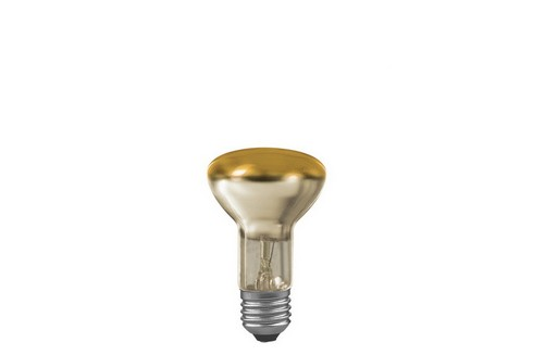 Reflektorová žárovka R63 60W E27 zlatá