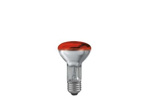 Reflektorová žárovka R63 40W E27 červená