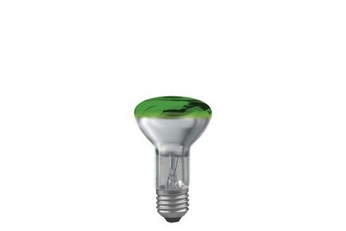 Reflektorová žárovka R63 40W E27 zelená