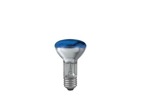 Reflektorová žárovka R63 40W E27 modrá