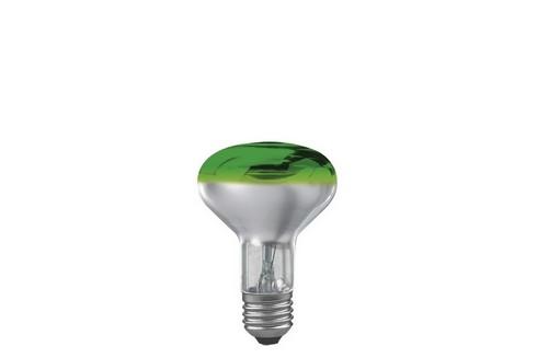 Reflektorová žárovka R80 60W E27 zelená