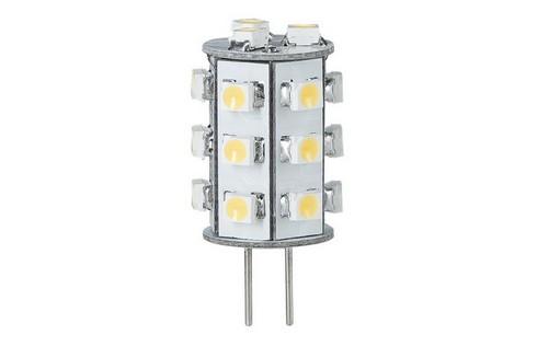 LED žárovka 1W G4 teplá bílá 3000K