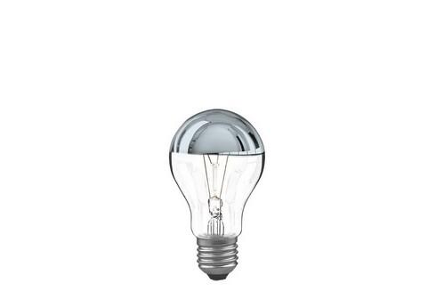 Klasická žárovka 40W E27 stříbrná