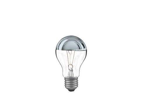 Klasická žárovka 60W E27 stříbrná