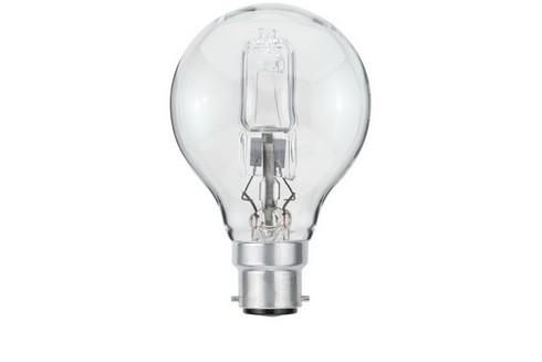 Žárovka kapka halogen 28W B22d čirá