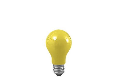 Klasická žárovka 25W E27 žlutá