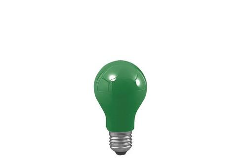 Klasická žárovka 40W E27 zelená