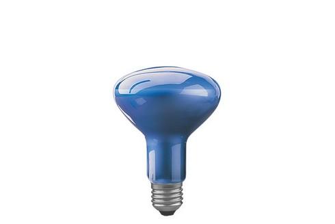 Reflektorová žárovka R95 pro podporu růstu rostlin 75W E27 modrá