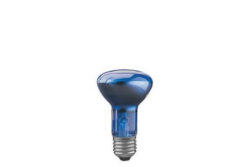 Reflektorová žárovka R63 pro podporu růstu rostlin 60W E27 modrá