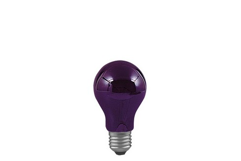 Klasická žárovka černé světlo 75W E27