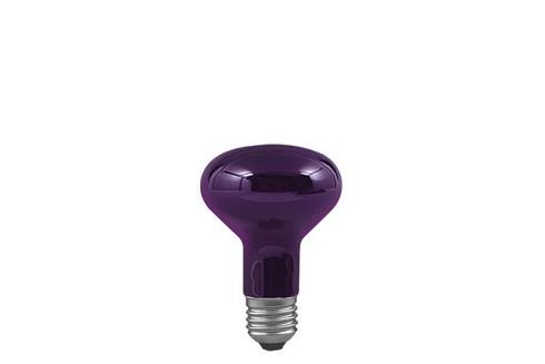 Reflektorová žárovka černé světlo 75W E27 černé světlo