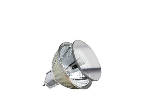 Halogenová žárovka Halo+ 40W 51mm GU5,3 stříbrná