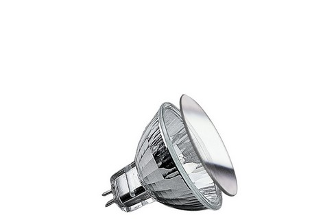 Halogenová žárovka Security Halo+ 28W GU5,3 12V 51mm stříbrná