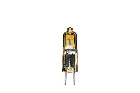 Halogenová žárovka 2x 35W GY6,35 12V 12mm zlatá