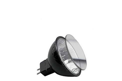 Halogenová žárovka Akzent flood 38° 20W GU5,3 12V 51mm černá