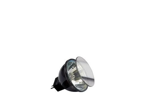 Halogenová žárovka Akzent flood 30° 2x 20W GU4 12V 35mm černá