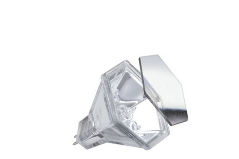 Halogenová žárovka Hexagonal 60° 20W GU5,3 12V stříbrná