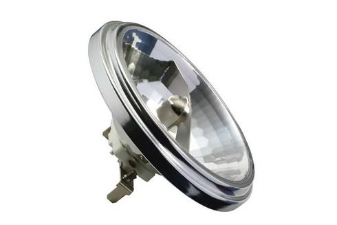 Halogenová žárovka QR 111 24° 50W G53 12V 111mm stříbrná