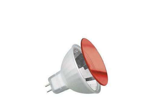 Halogenová dichroická žárovka True Colour 35W GU5,3 12V červená