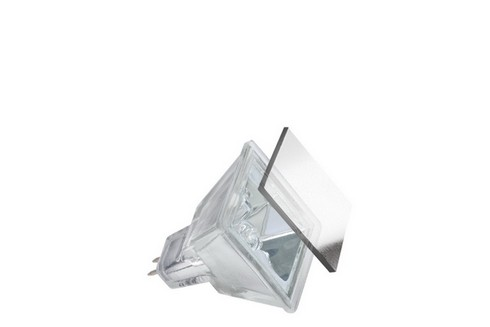 Halogenová žárovka Quadro 60° 35W GU5,3 12V 37mm stříbrná