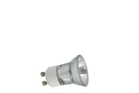 Halogenová žárovka 35W GU10 230V 35mm stříbrná