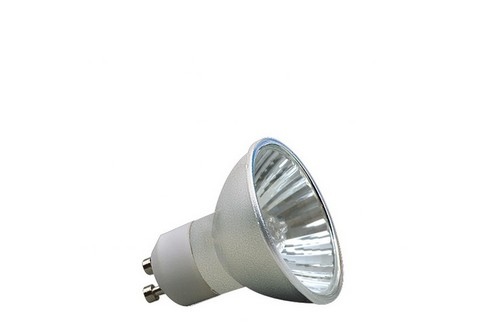 Halogenová žárovka Akzent 50W GU10 230V 51mm hliník