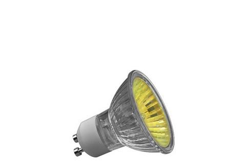 Halogenová žárovka Truecolor 50W GU10 230V 51mm žlutá