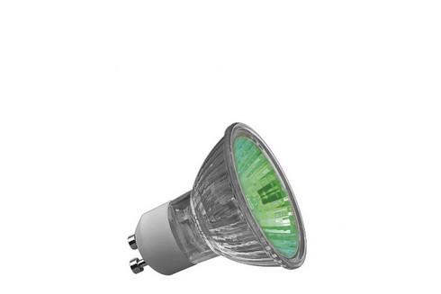 Halogenová žárovka Truecolor 50W GU10 230V 51mm zelená