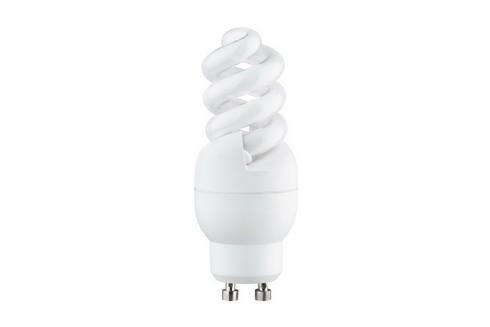 Úsporný světelný zdroj Spirale 7W GU10 teplá bílá