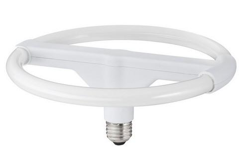 Úsporná kruhová zářivka 24W E27 teplá bílá