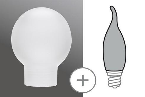 Sklo žárovka minihalogen satin