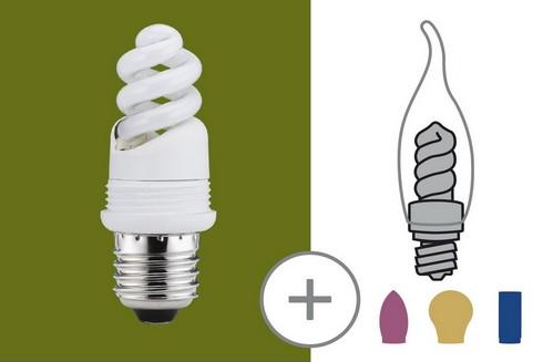 Úsporný světelný zdroj 7W E27 teplá bílá