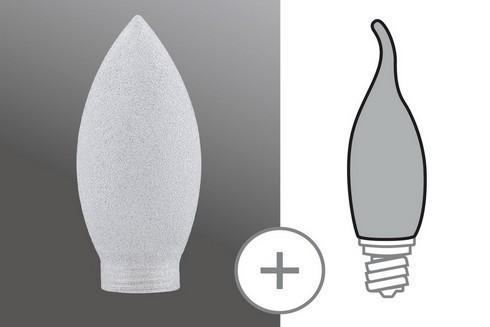 Kryt Svíčka minihalogen ledový krystal