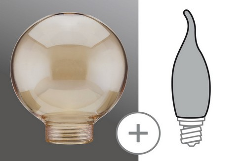 Kryt Žárovka Globe 60 minihalogen zlatá