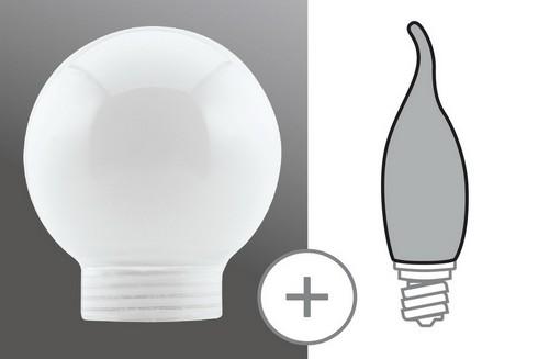 Sklo žárovka minihalogen opál