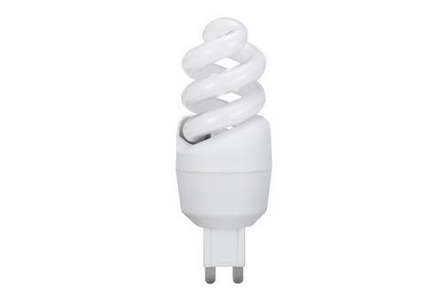 Úsporný světelný zdroj Spirale 7W G9 teplá bílá