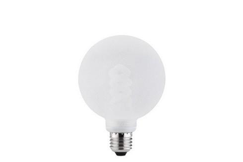 Úsporný světelný zdroj Globe 100 10W E27 ledový krystal čirá