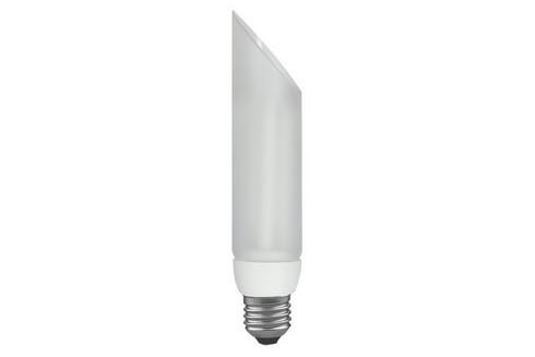 Úsporný světelný zdroj DecoPipe kosá 11W E27 teplá bílá