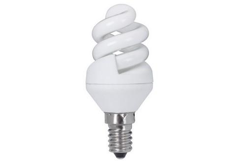 Úsporný světelný zdroj Spirale 5W E14 teplá bílá