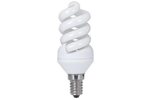 Úsporný světelný zdroj Spirale 9W E14 teplá bílá