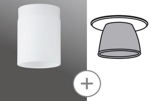 DecoSystems sklo Tube Mini opál, sklo P 92572