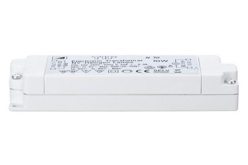 TIP VDE elektronický transformátor max.20-70W 230/12V 70VA bílá