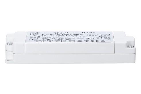 TIP VDE elektronický transformátor max.20-105W 230/12V 105VA bíl