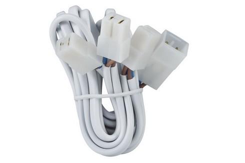 Propojovací kabely pro 3 zápustná svítidla, spojky, 3x35W bílá 1