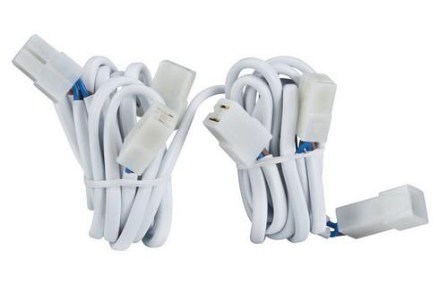 Propojovací kabely pro 5 zápustných svítidel, spojky, 5x20W bílá