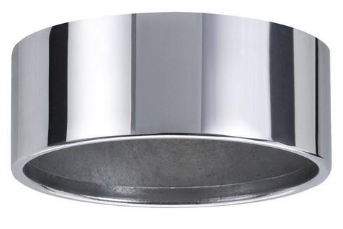 Kroužek pro Zápustné svítidlo do nábytku IP44 výklopné chrom/oce P 98576
